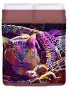 Cat Purr Kitten Pet Fur Feline  Duvet Cover