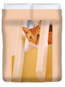 Cat Spy Duvet Cover
