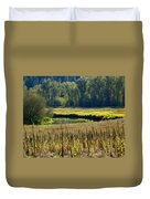 Cat Tails In The Sun Duvet Cover