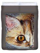 Cat Visions Duvet Cover