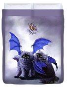 Catabat Snack Duvet Cover