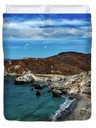Catalina Island Duvet Cover