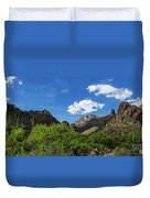 Catalina Mountains In Tucson Arizona Duvet Cover
