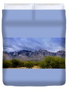 Catalina Mountains P1 Duvet Cover