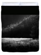 Cataloochee Morning Duvet Cover