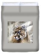 Catamount Duvet Cover