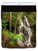Cataract Falls In Great Smoky Mountains National Park Duvet Cover