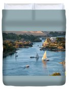 Cataracts Of The Nile Duvet Cover