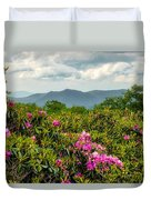 Catawba Rhododendrons Duvet Cover
