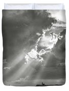 Catboats Sailing In Barnstable Harbor Duvet Cover