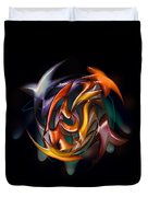 Catch Of The Day In Hand Duvet Cover