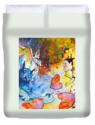 Catching Love Duvet Cover