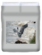 Catching The River Breeze Duvet Cover