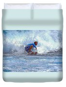 Catching The Wave Duvet Cover
