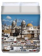 Catedral De Cadiz Duvet Cover