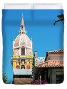 Catedral De Cartagena Duvet Cover