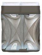 Catedral De La Purisima Concepcion Ceiling Duvet Cover by Lou Novick