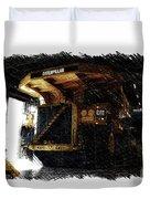 Caterpillar 797f Mining Truck Pa  Duvet Cover