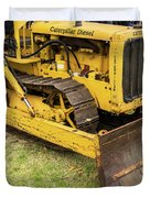 Caterpillar D2 Bulldozer 01 Duvet Cover