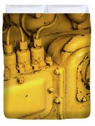 Caterpillar D2 Bulldozer 06 Duvet Cover