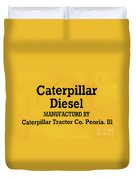 Caterpillar D2 Bulldozer 08 Duvet Cover