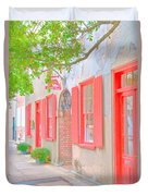 Catfish Row Chs Duvet Cover