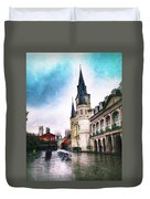 Cathederal From Side Duvet Cover