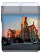 Cathedral At Dawn Duvet Cover