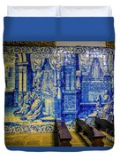 Cathedral Azulejos Duvet Cover