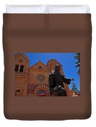 Cathedral Basilica In Santa Fe Duvet Cover