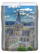Cathedral Closeup Duvet Cover