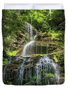 Cathedral Falls 4 - Paint Duvet Cover
