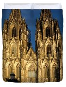 Cathedral In Cologne  Duvet Cover