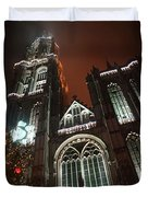 Cathedral In The Mist Duvet Cover