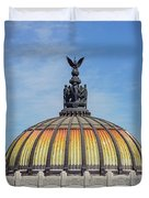 Cathedral Of Art In Mexico Duvet Cover