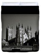 Cathedral Of Canterbury Duvet Cover