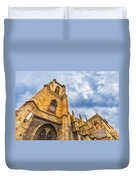Cathedral Of Colmar, Alsace,france Duvet Cover