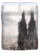 Cathedral Of Cologne Duvet Cover