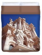 Cathedral Of Siracusa Duvet Cover