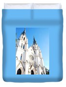 Cathedral Of St. John The Baptist Duvet Cover