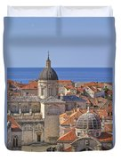 Cathedral Of The Assumption Of The Virgin In Dubrovnik Duvet Cover