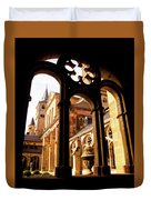 Cathedral Of Trier Window Duvet Cover