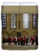 Cathedral People Duvet Cover