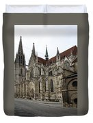 Cathedral Regensburg Duvet Cover