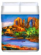 Cathedral Rock Afternoon Duvet Cover