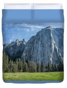 Cathedral Rock And Spires Duvet Cover