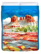 Cathedral Rock Crossing Duvet Cover