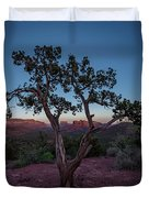 Cathedral Rock Duvet Cover by Gary Lengyel