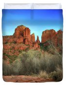 Cathedral Rock In Sedona Duvet Cover