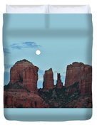 Cathedral Rock Moon 081913 E2 Duvet Cover